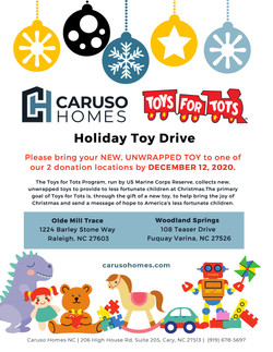ToyDrive 2020 Caruso Homes