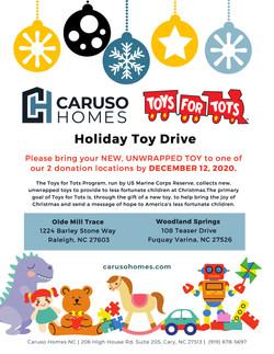 ToyDrive 2020 Caruso Homes