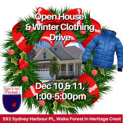Note In The Pocket Winter Coat Drive