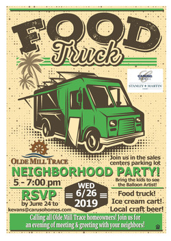 Caruso Food Truck Event