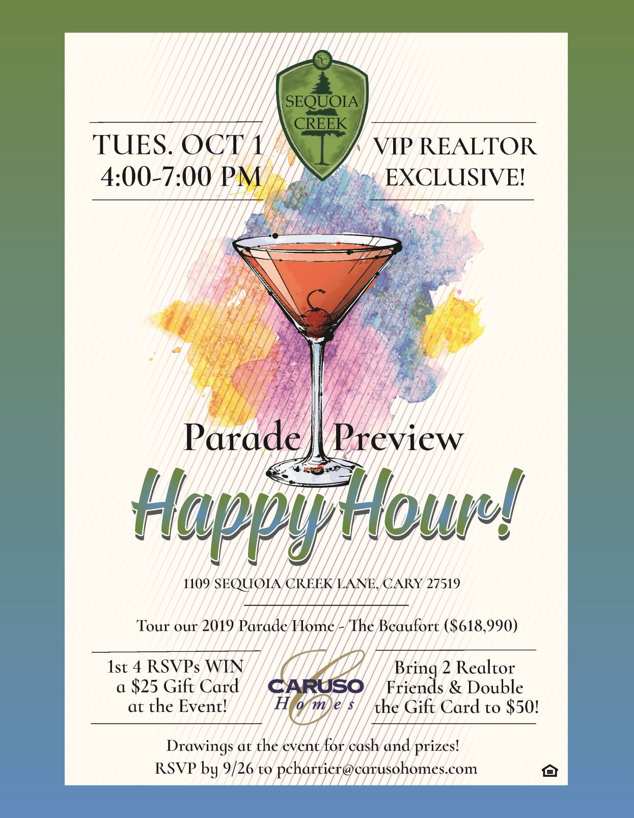 Parade Preview Happy Hour