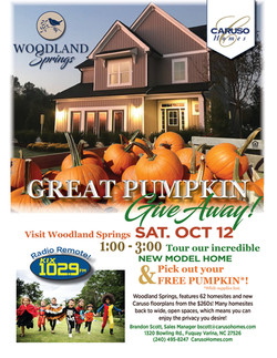 Woodland Springs Pumpkin Give Away