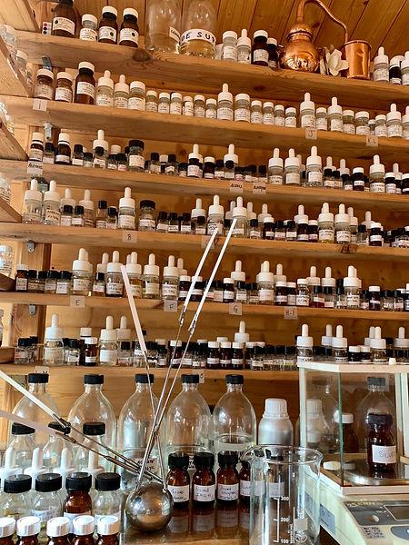 orgue de création de parfums sur mesure