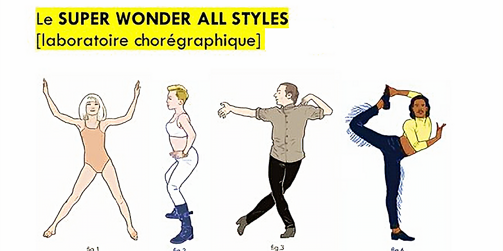 Super wonder all styles de Marta Izquierdo. CDCN Toulouse/Occitanie.