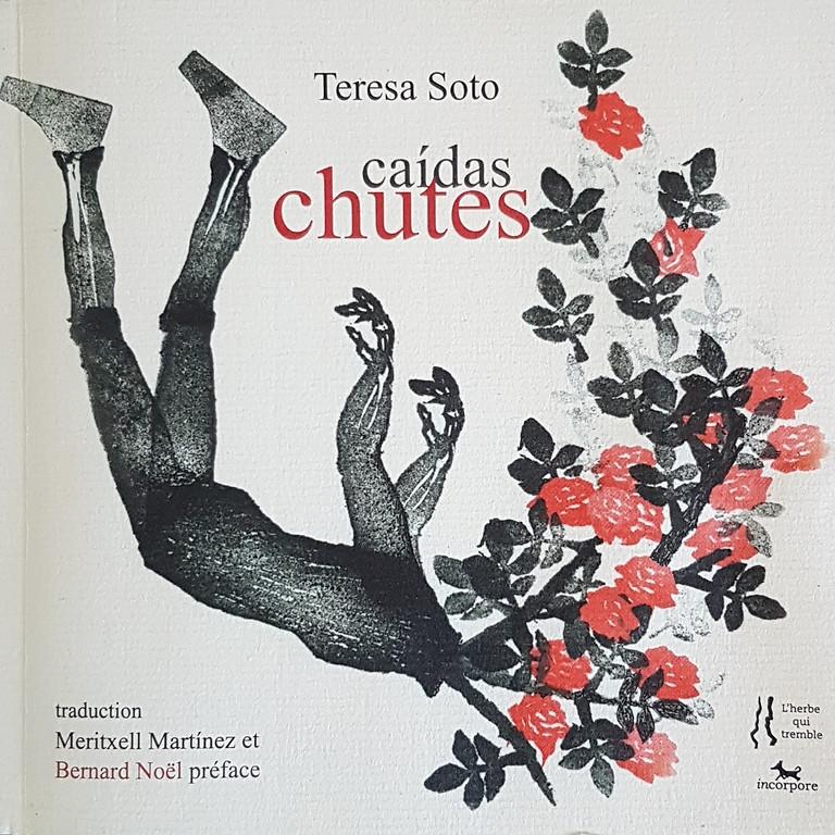 """Lecture poétique et improvisation dansée autour de """"Caídas, chutes"""" de Teresa Soto."""