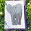 Thumbnail: Elephant Illustration card