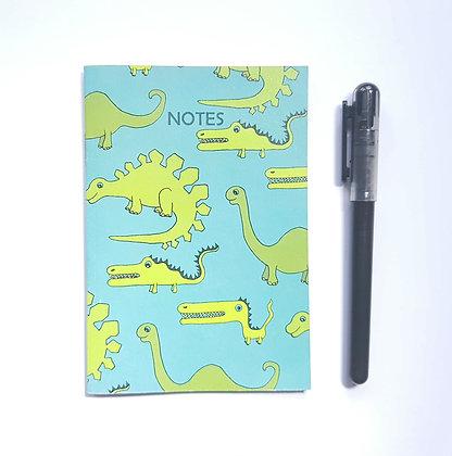 A6 Dinosaur Notebook