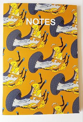 A5 Jellyfish Notebook