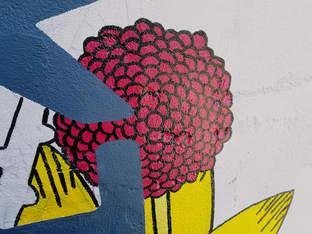 Flower - Mural