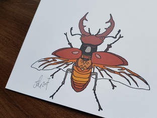 Stag Beetle Commission 1