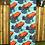 Thumbnail: Poison Dart Frog Tea Towel - Teal
