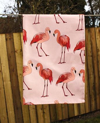 Flamingo Tea Towel