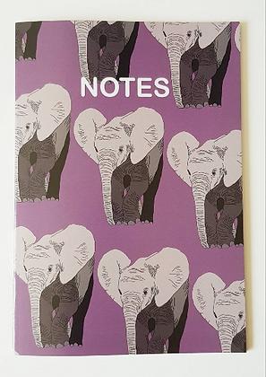 A5 Elephant Notebook