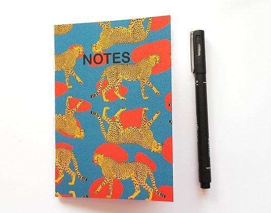 A6 Cheetah Notebook