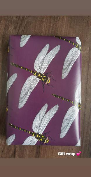 Dragonfly Wrap