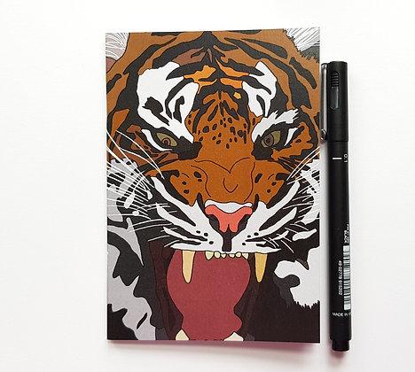 A6 Tiger Notebook