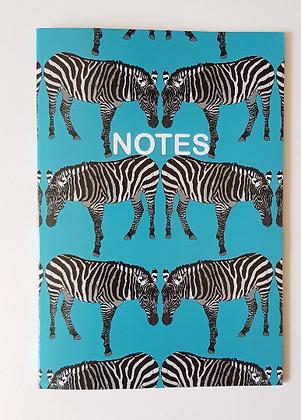 A5 Zebra Notebook
