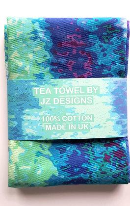 Abstract Posterize Tea Towel