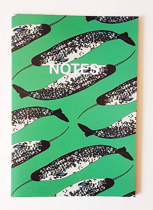 A5 Narwhal Notebook