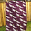 Thumbnail: Dragonfly Tea Towel - Purple