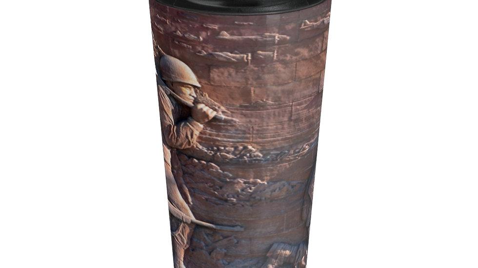 Veteran's Memorial Stainless Steel Travel Mug