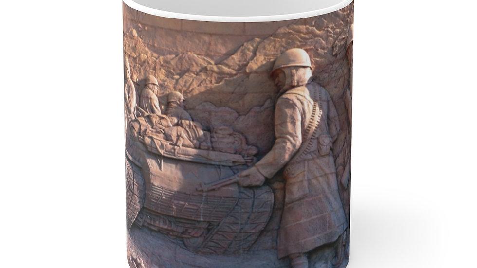 Veteran's Memorial White Ceramic Mug