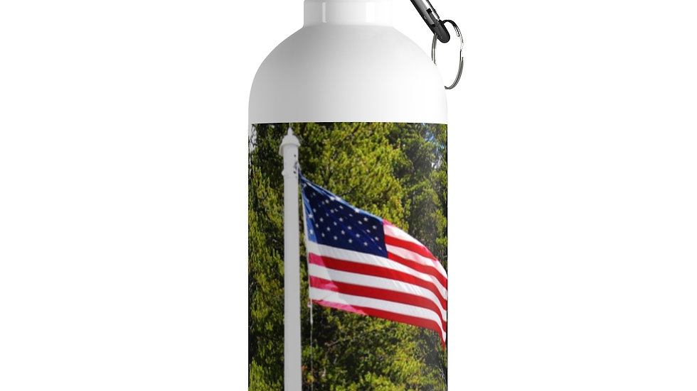 Old Glory Stainless Steel Water Bottle