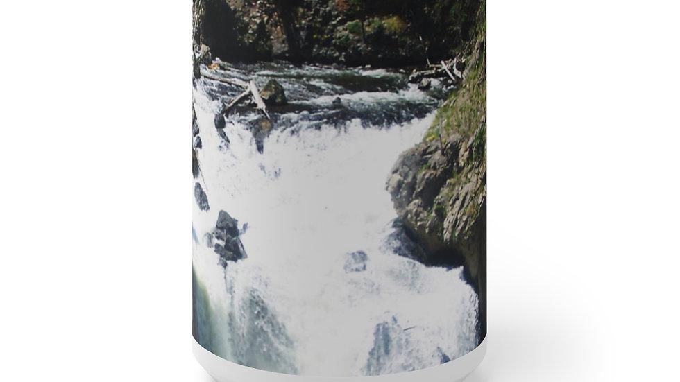 Mountain River Yellowstone National Park Color Changing Mug