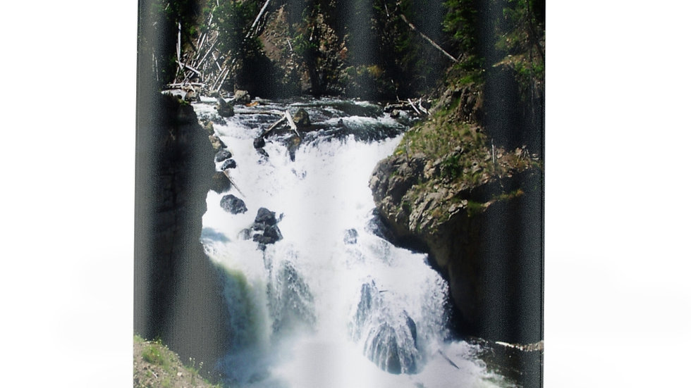 Mountain River, Yellowstone National Park Shower Curtains