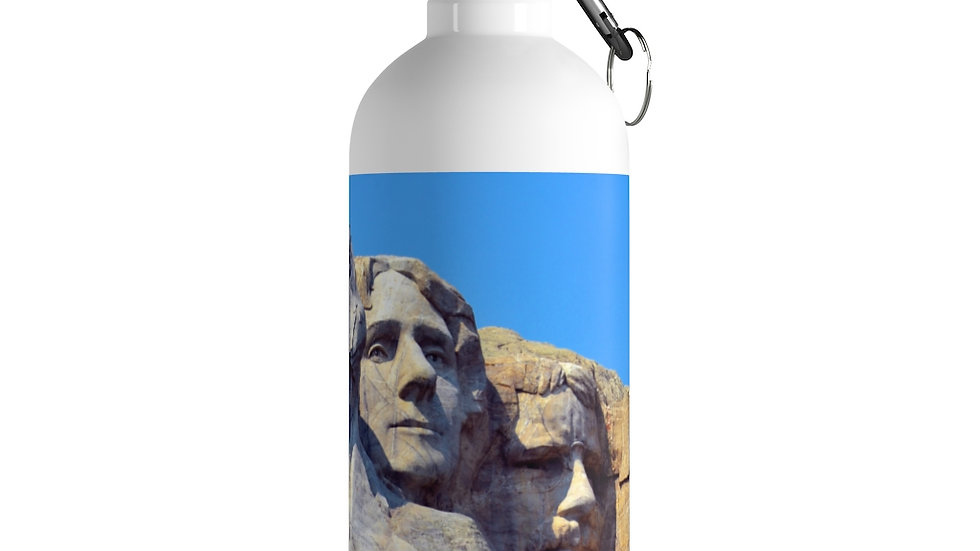 Mount Rushmore Stainless Steel Water Bottle