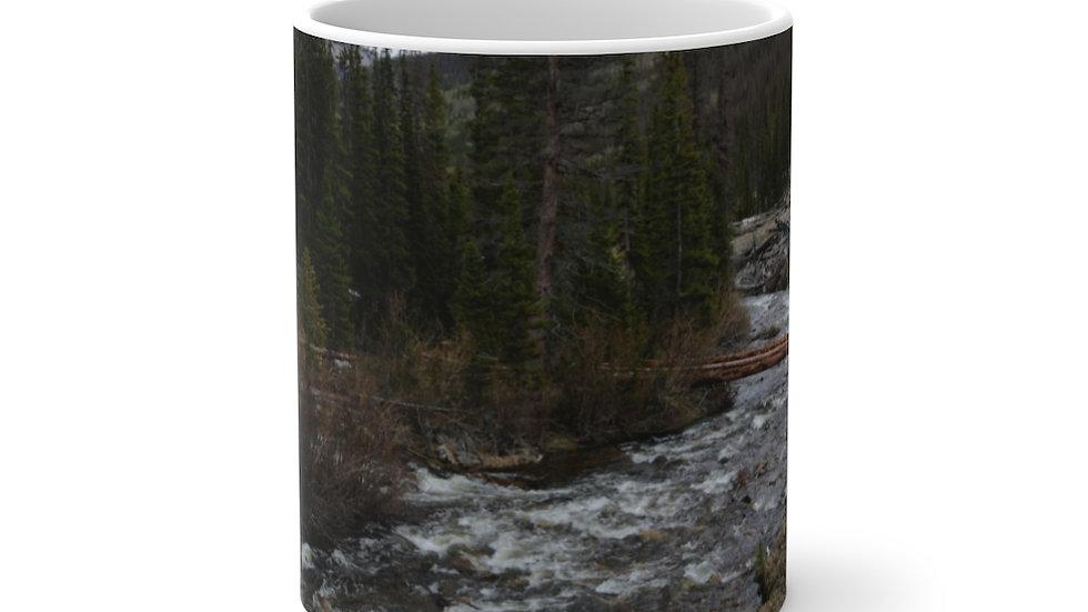 Mountain River Color Changing Mug