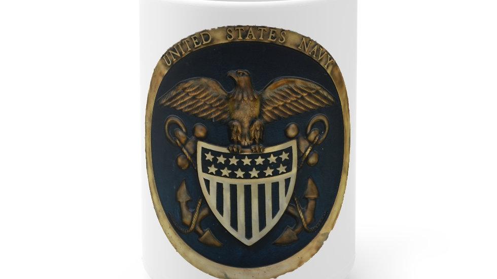 US Navy Seal White Ceramic Mug