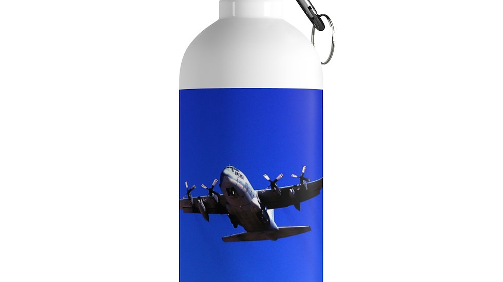 USAF C-130 Stainless Steel Water Bottle