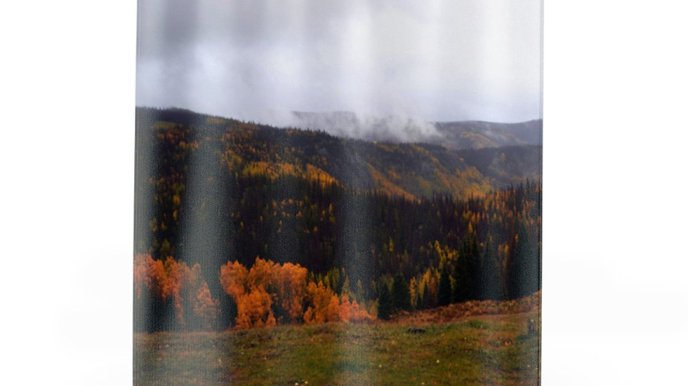 Mountain Fall Foliage Shower Curtains