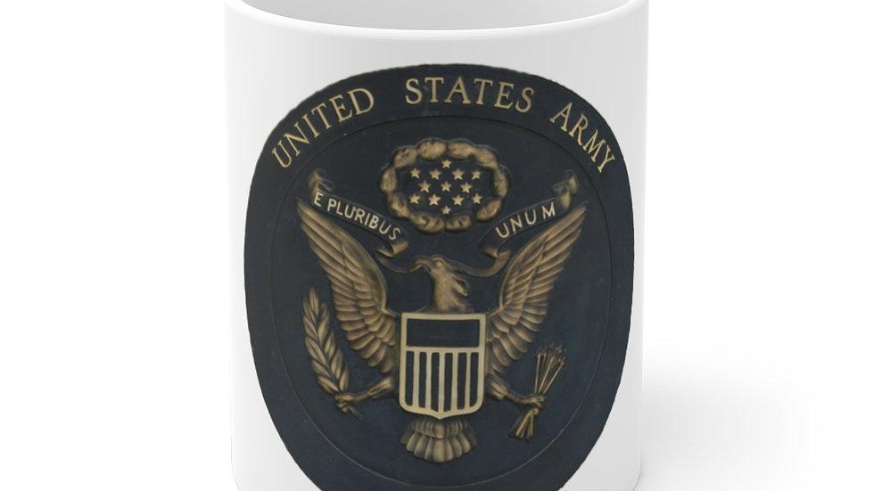 US Army Seal White Ceramic Mug