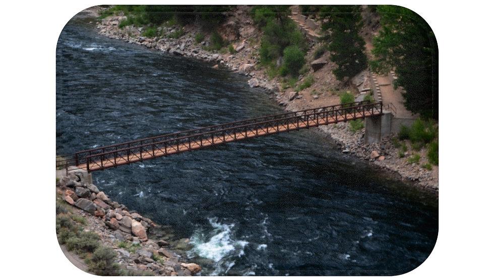 Gunnison River, Cimarron Canyon Bath Mat