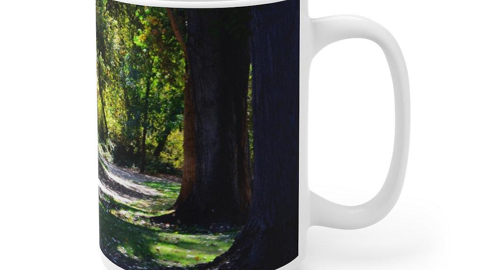 Caswell State Park, California White Ceramic Mug
