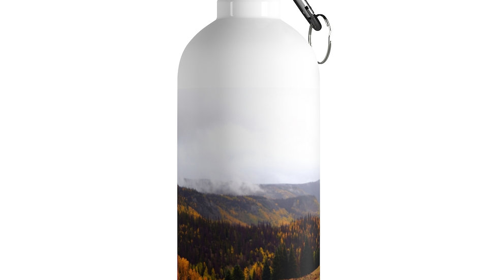Mountain Fall Foliage Stainless Steel Water Bottle