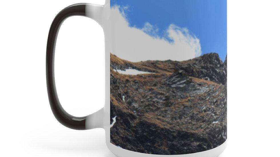 Mountain Peak Color Changing Mug