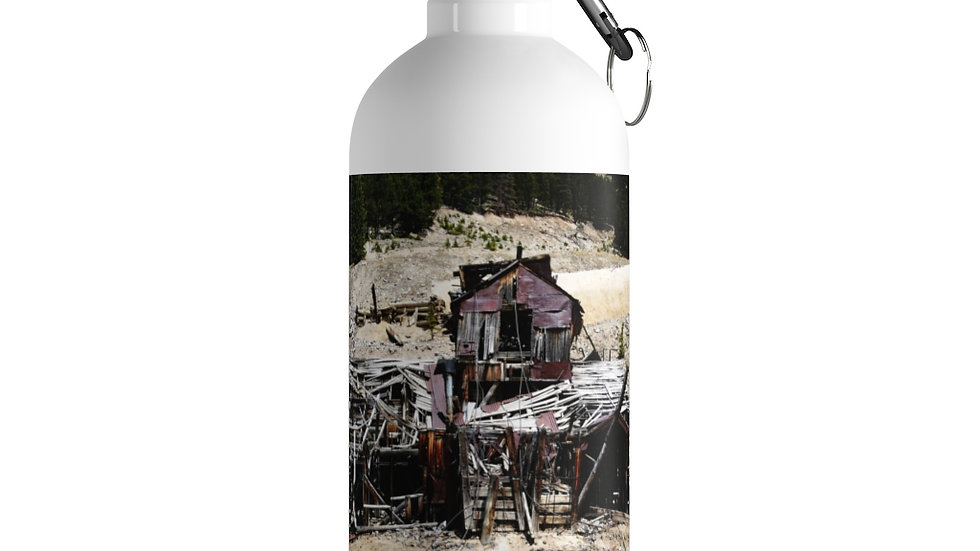 Mining Remnants Stainless Steel Water Bottle