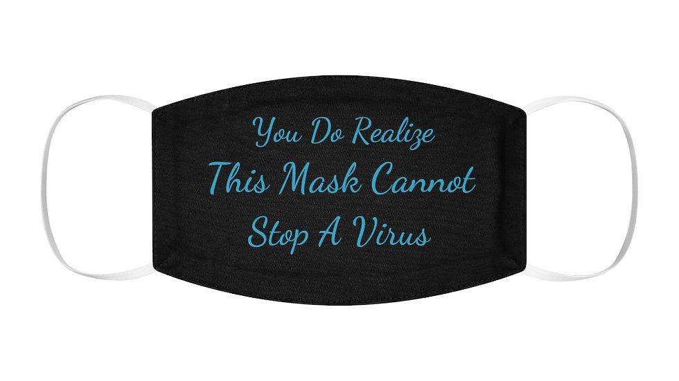 Snug-Fit Polyester Face Mask