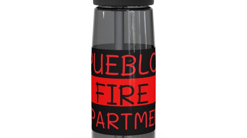 Pueblo Fire Dept -Red Line CamelBak Eddy®  Water Bottle, 20oz / 25oz