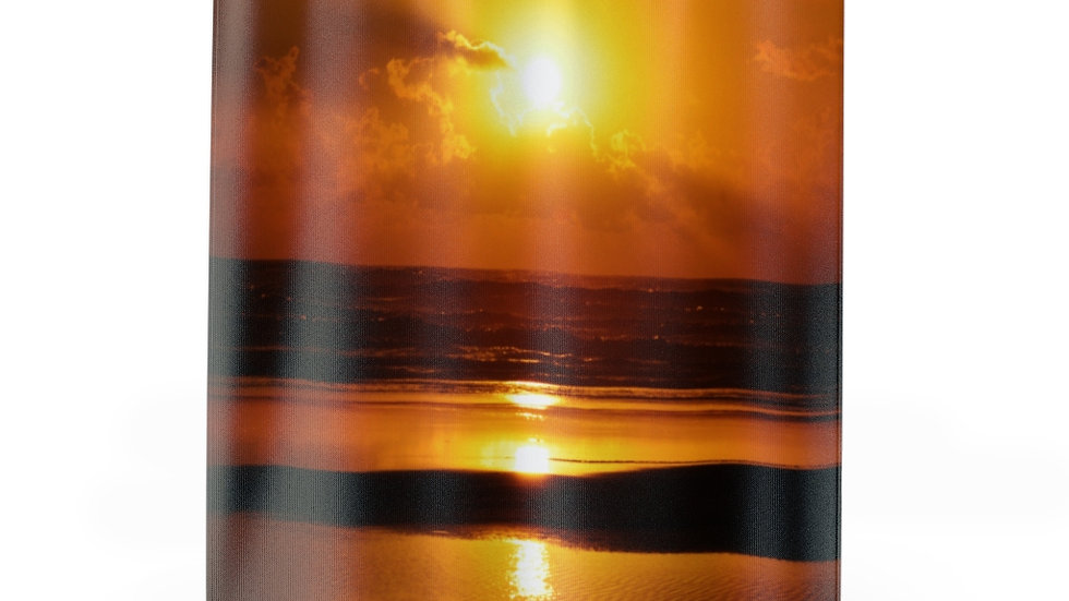 Sunset over the Pacific Ocean, Oregon Shower Curtains