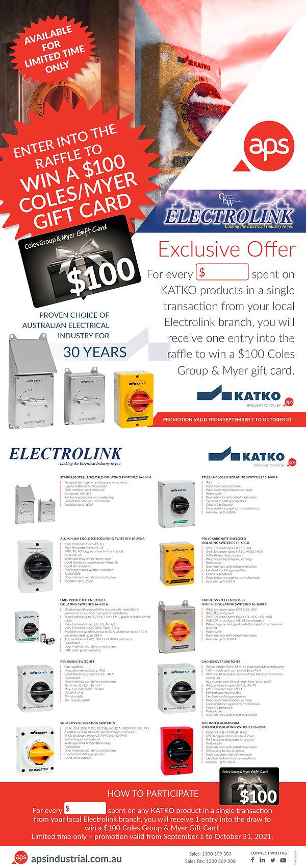 5-PR0010 KATKO - SO - Electrolink Promo - $100 Coles Myer-1FINAL.jpg