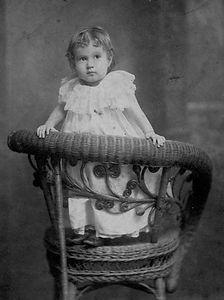 Olivia Bernard Carter Haldeman, Baby- cr