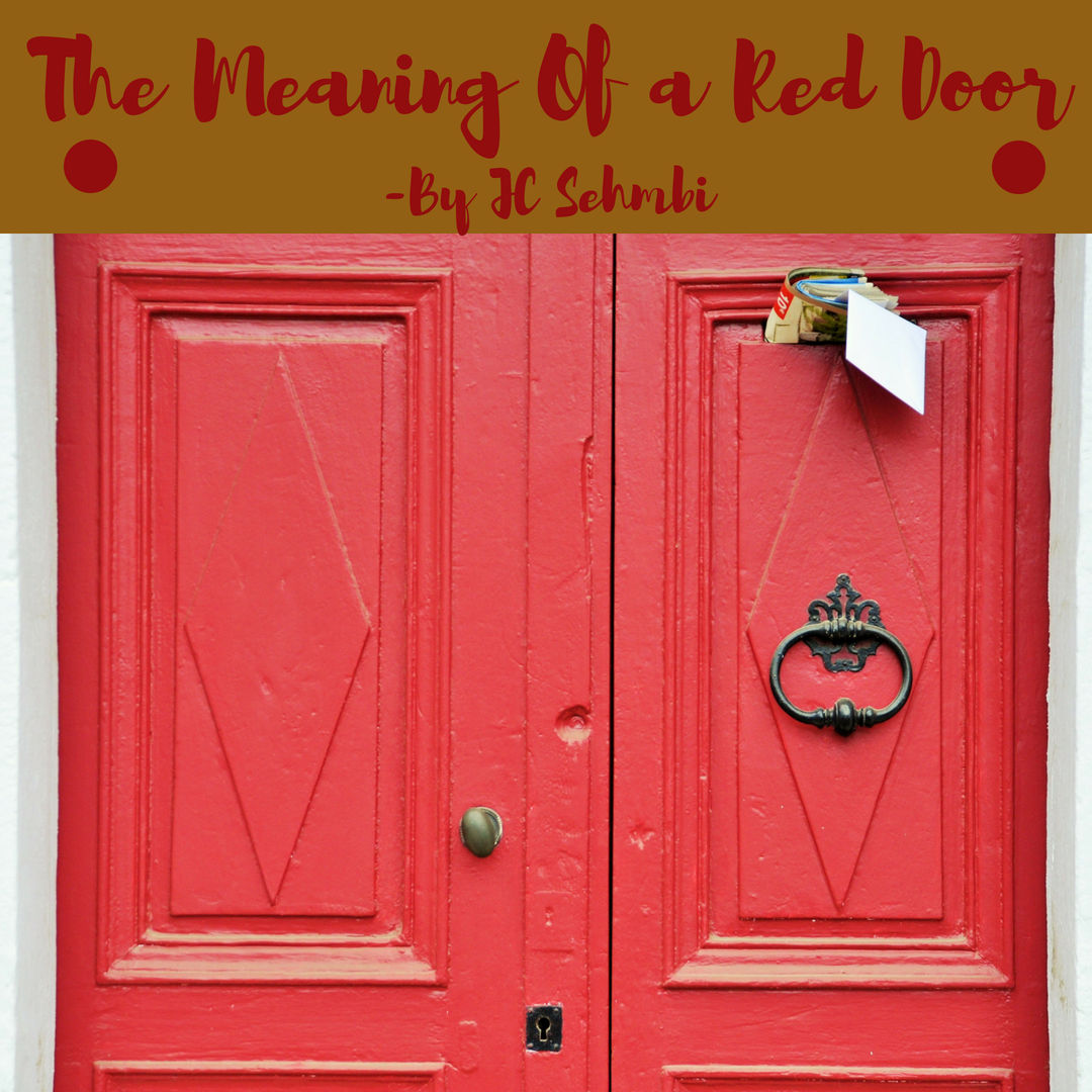 What Does A Red Painted Door Mean