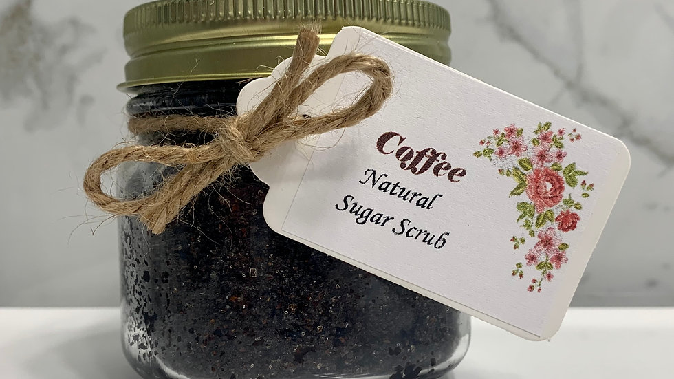 Coffee natural scrub 8 oz