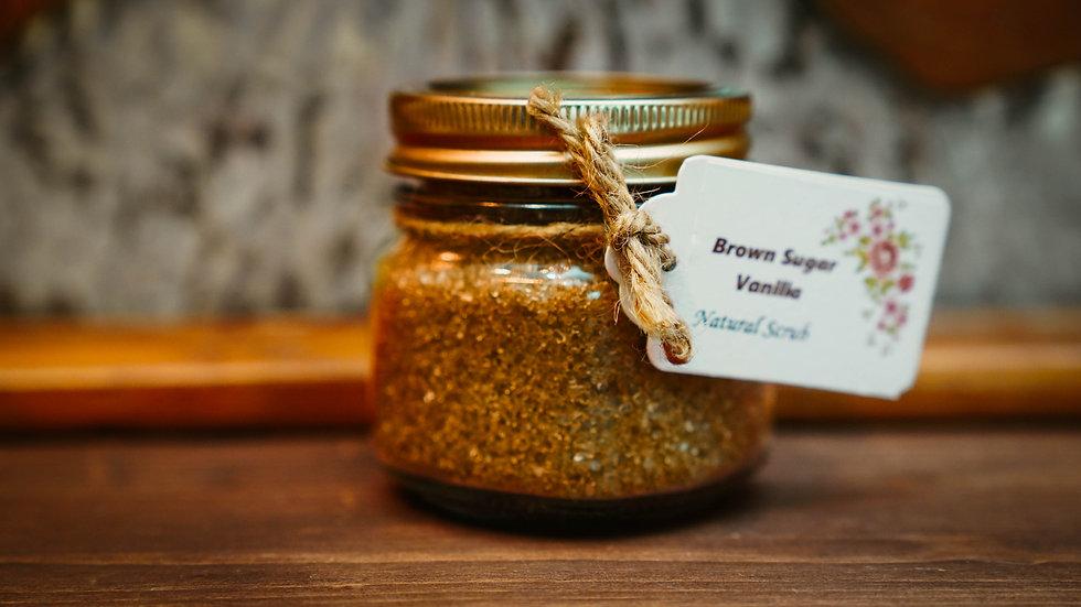 Brown Sugar Vanilla Scrub 8 oz