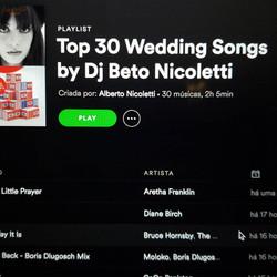 Top 30 Wedding Songs by Dj Nicoletti_Spo