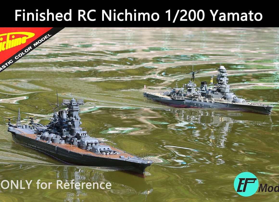 1/200 Yamato Battleship Brass RC Upgrade Kit | rcship